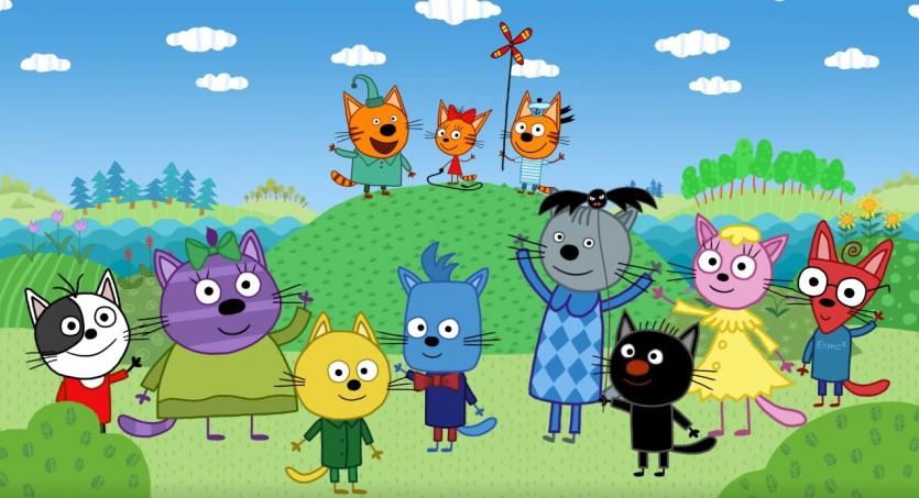 Kid-E-Cats dolci gattini - Cartoni animati