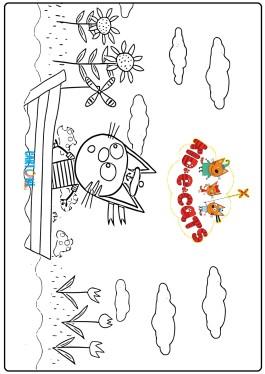 Kid-E-Cats da stampare e colorare