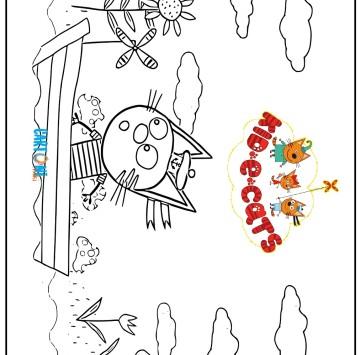 Kid-E-Cats da stampare e colorare - Cartoni animati