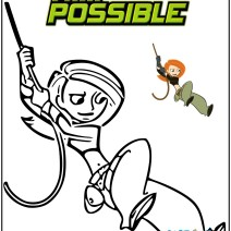 Kim Possible disegni da colorare - Disegni da colorare