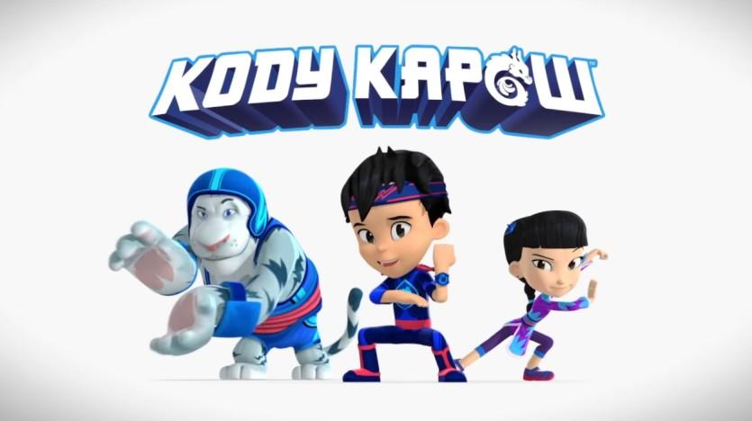 Kody Kapow - Cartoni animati