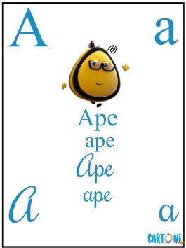 A come APE con La casa delle api