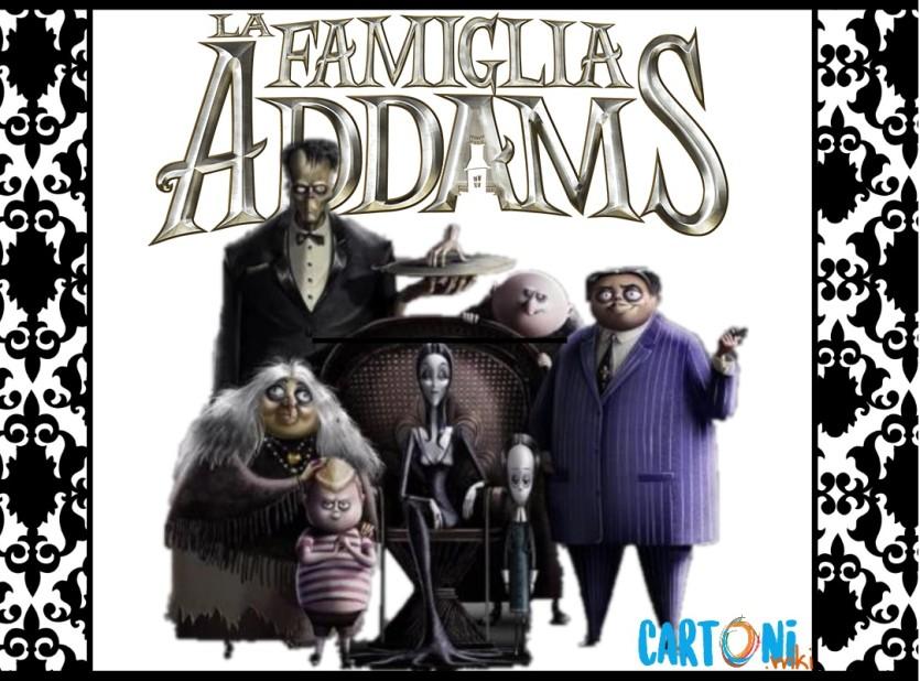 La Famiglia Addams Cartoni Animati