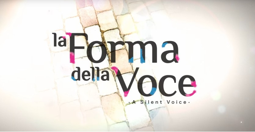 La forma della voce - Cartoni animati
