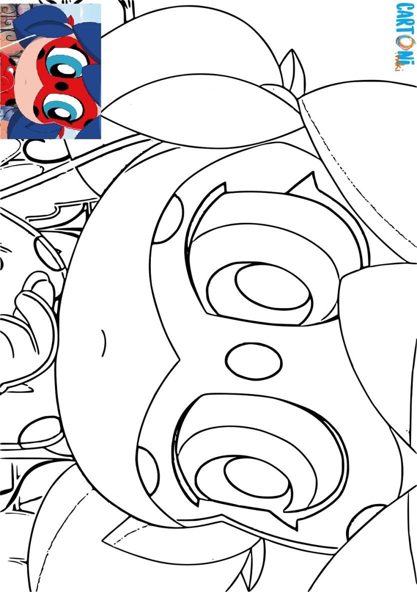 Miraculous disegni degli short chibi cartoni animati for Immagini di clown da colorare