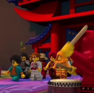 Sigla Lego Ninjago The Fold  - Cartoni animati