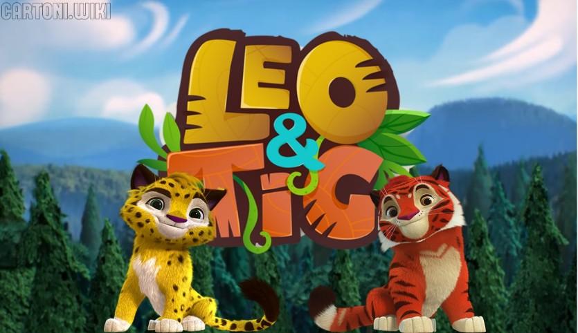 Leo e Tig - Cartoni animati