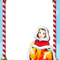Stampa lettera a Babbo Natale con Belle - Natale