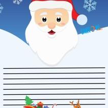 Lettera Babbo Natale per bambini - Natale