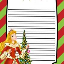 Foglio per lettera a Babbo Natale - Natale