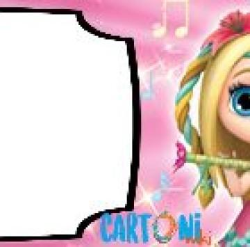 Little Charmers Invito compleanno da compilare online - Cartoni animati
