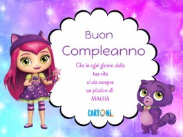 Little charmers Buon compleanno