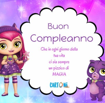 Little charmers Buon compleanno - Cartoni animati