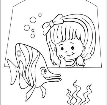 Little people disegni da colorare - Cartoni animati