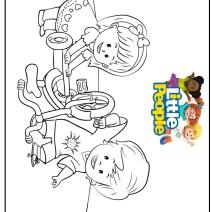 Colora Little people - Disegni da colorare