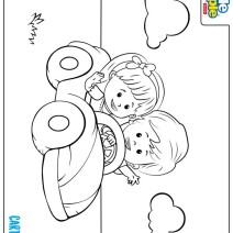 Little People coloring pages - Disegni da colorare