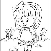 Disegni da stampare per bambini Little People - Disegni da colorare