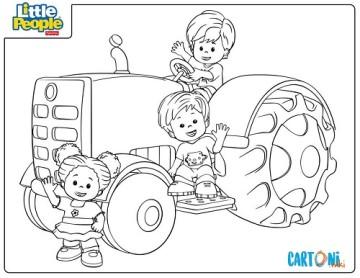 Cartoni animati Disegni da colorare per bambini