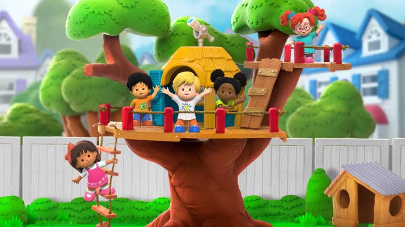 Little people - Cartoni animati