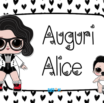 Lol surprise Black Tie Auguri Alice - Cartoni animati