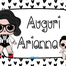 Lol surprise Black Tie Auguri Arianna - Auguri Arianna