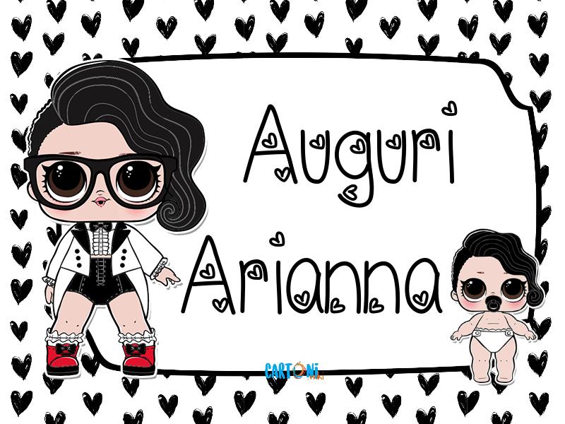 Lol surprise Black Tie Auguri Arianna - Cartoni animati