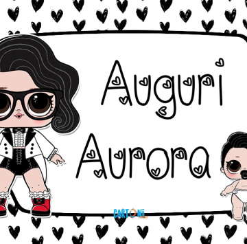 Lol surprise Black Tie Auguri Aurora - Cartoni animati