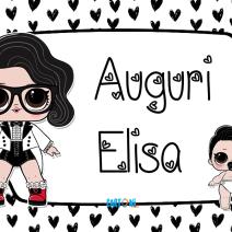 Lol surprise Black Tie Auguri Elisa - Auguri Elisa