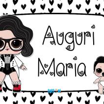 Lol surprise Black Tie Auguri Maria - Auguri Maria