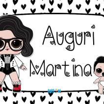 Lol surprise Black Tie Auguri Martina - Auguri Martina