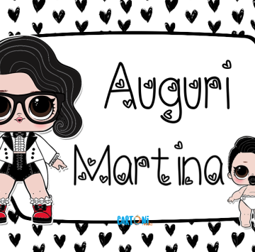 Lol surprise Black Tie Auguri Martina - Cartoni animati