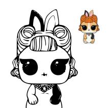 Lol Pets Jitter Critter da colorare - Disegni da colorare