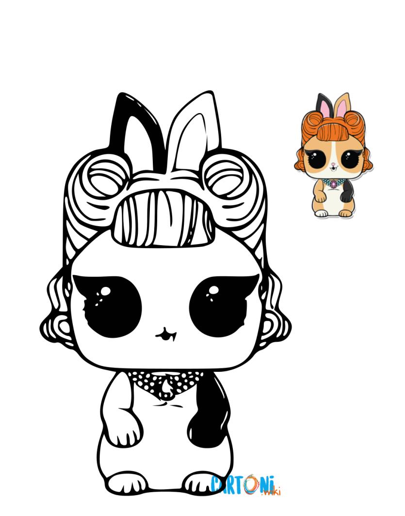 Lol Pets Jitter Critter Da Colorare Cartoni Animati