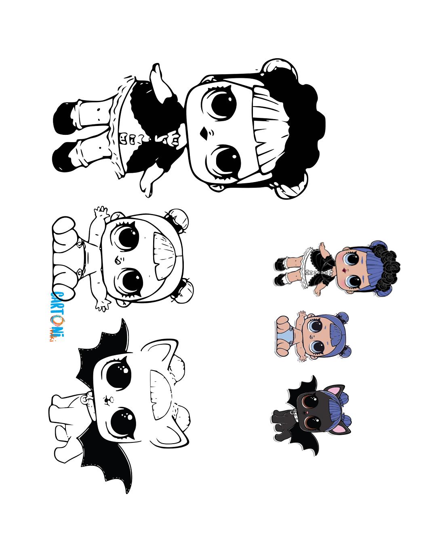 Lol Surprise Disegni Da Colorare Cartoni Animati
