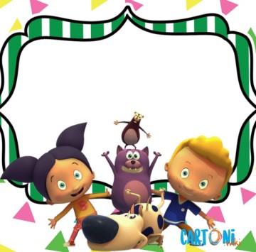 Loopdidoo inviti feste compleanno - Cartoni animati