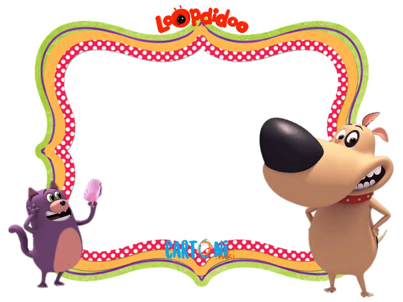 Inviti festa Loopdidoo - Cartoni animati