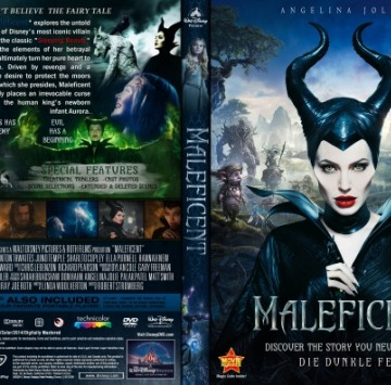 Maleficent DVD Covers - Cartoni animati