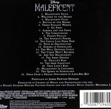 Maleficent (Original Motion Picture Soundtrack) - Cartoni animati