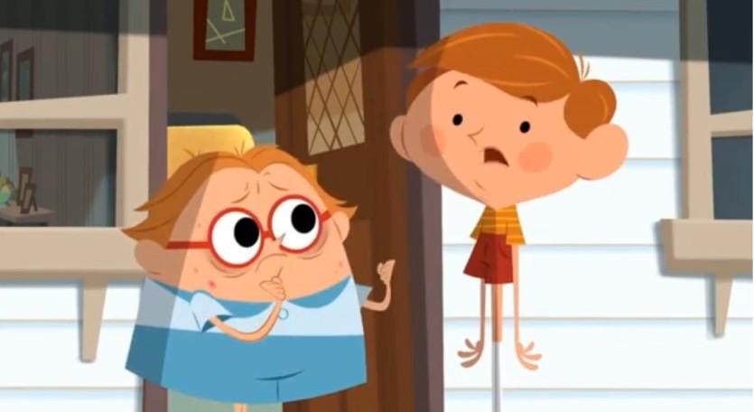 Mamma, Jamie ha i tentacoli - Cartoni animati