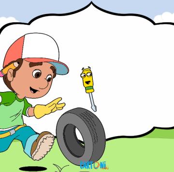 Inviti Manny tuttofare - Cartoni animati
