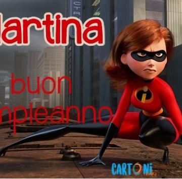 Martina buon compleanno - Cartoni animati