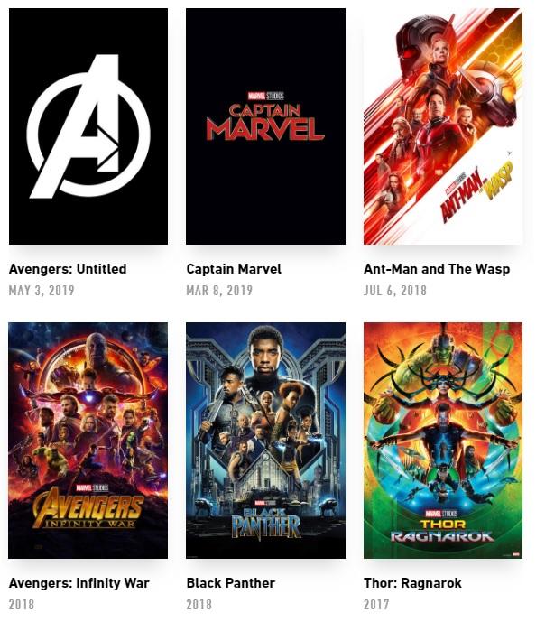 Marvel Film - Cartoni animati