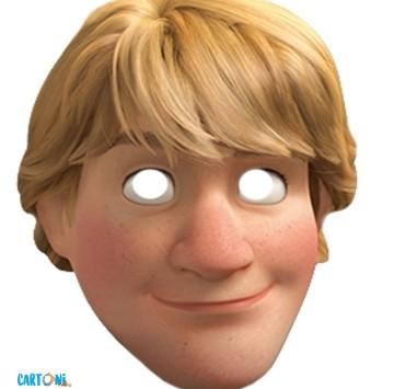 Frozen Stampa la maschera di Kristoff - Cartoni animati