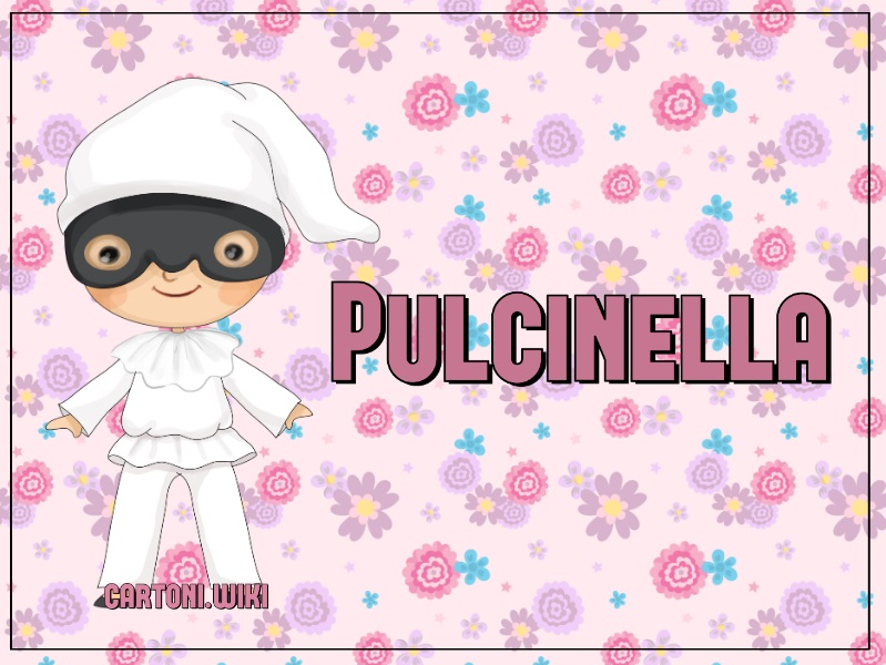 Maschera Pulcinella - Cartoni animati