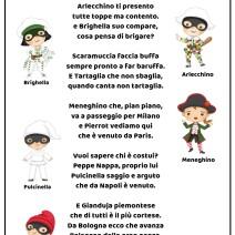 Maschere di Carnevale poesia di Attilio Cassinelli - Poesie