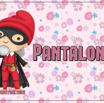 Maschera Pantalone - Cartoni animati