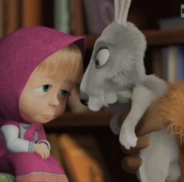 Masha e Orso - Canzone del singhiozzo - Cartoni animati