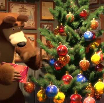 Masha e Orso - La magia del Natale - Cartoni animati