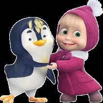 Masha e Orso Clipart pinguino - Clipart