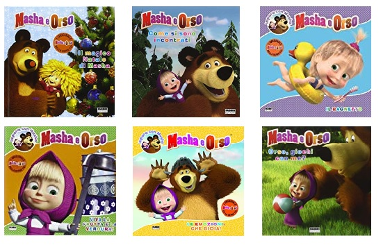 I libri di Masha e Orso - Cartoni animati